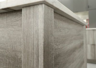 Aged Oak Gray Thermofoil Finish